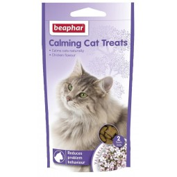 Calming Cat Treats 35g Entrenamiento y Comportamiento