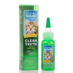 TropiClean Fresh Breath Oral Gatos 59ml Higiene Oral