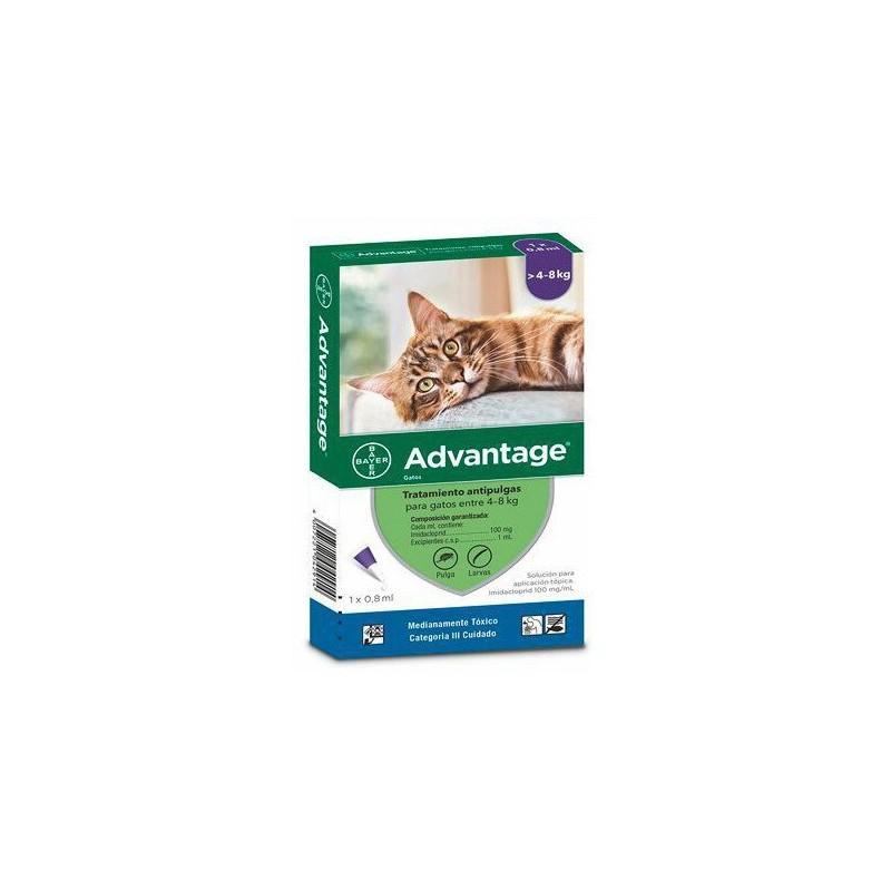 Advantage Gatos entre 4-8Kg