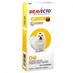 Bravecto 2-4,5kg Antiparasitarios