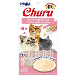 Inaba Churu de Atun con Salmon Snack y Premios