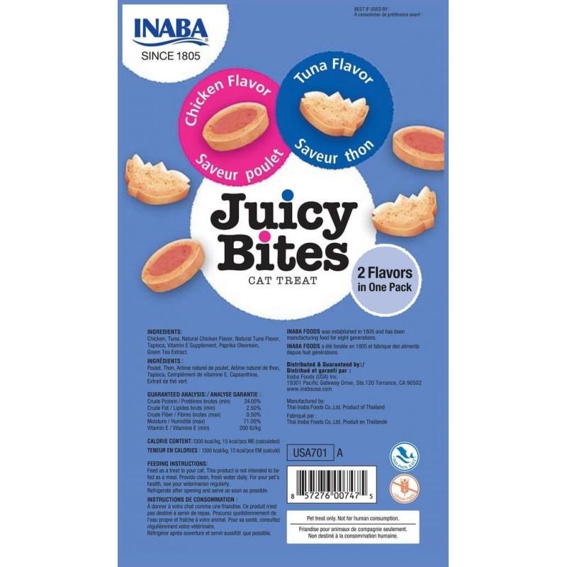 Inaba Juicy Bites de Pollo y Atun