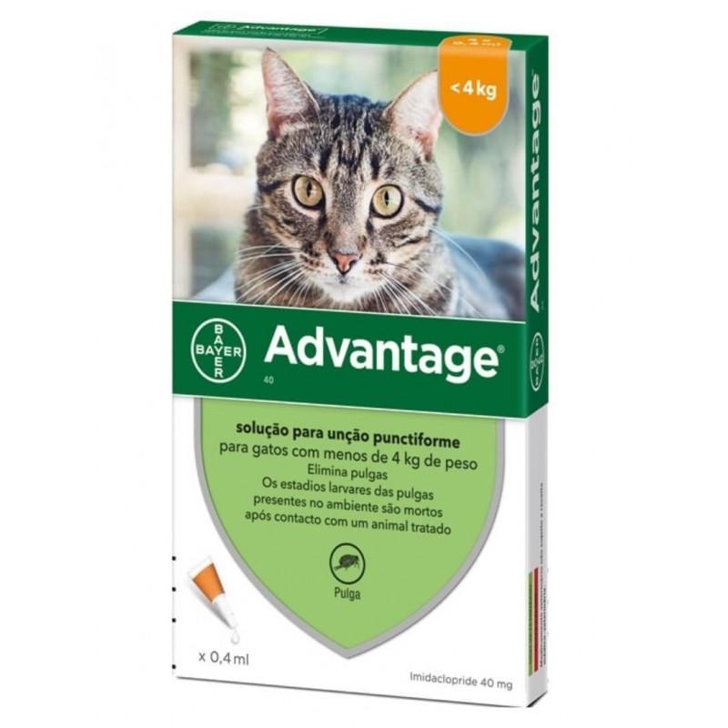 Advantage Gatos hasta 4Kg