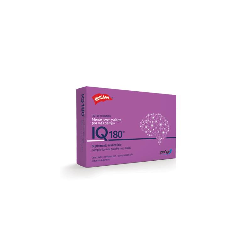 IQ 180 Holliday - 21 Comprimidos