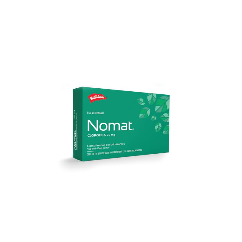 Nomat Clorofila 75mg - 20 Comprimidos