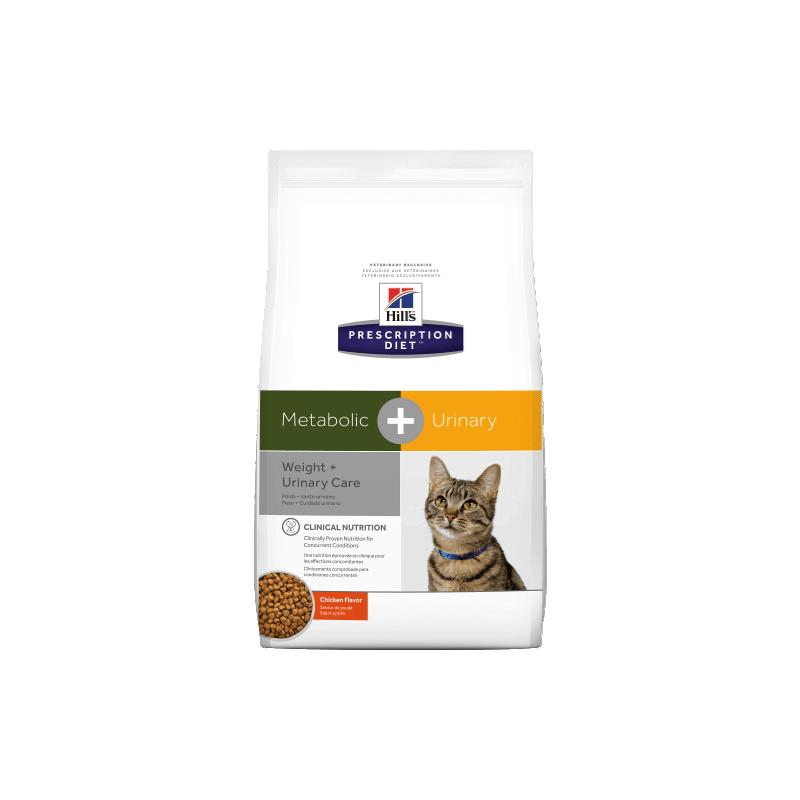 Hills Metabolic + Urinary Feline 2,88Kg